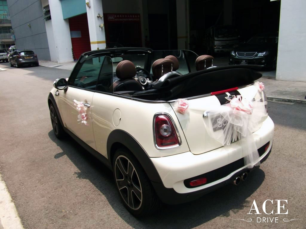 Bridal Car Mini Cooper S