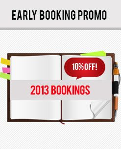 Early Booking Car Rental Promo - September 2012