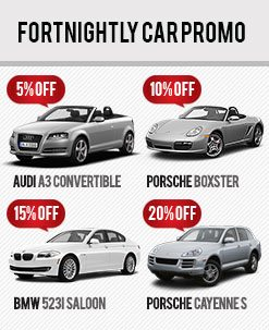 Fortnightly Car Rental Promo - September 2012