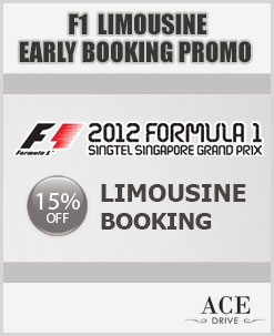 F1 Early Booking Promo For 2nd Fortnight of August 2012