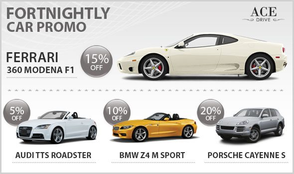 Fornightly Car Promo For 2nd Fortnight of August 2012