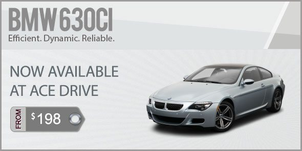 BMW 6 Sereies Coupe For Rental