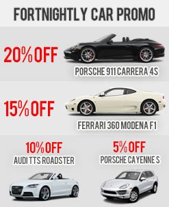 Fortnightly Car Rental Promo - December 2012 1st Fortnight