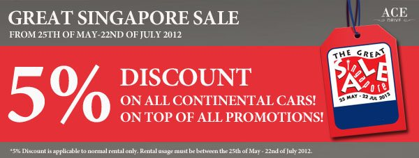 Great Singapore Sale Promo
