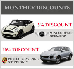Monthly Car Promo Till End of July 2012