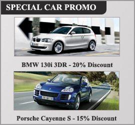 Special Car Promo Luxe Car Rental
