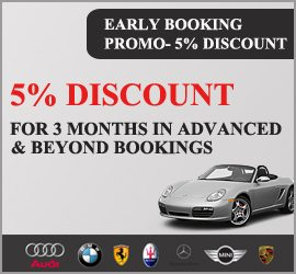 Early Booking Promo Luxe Car Rental