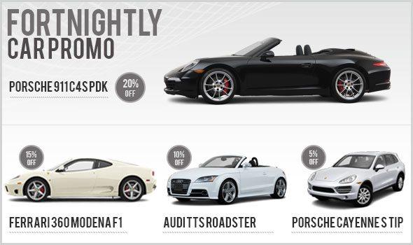 Fortnightly Car Rental Promo - November 2012 2nd Fortnight