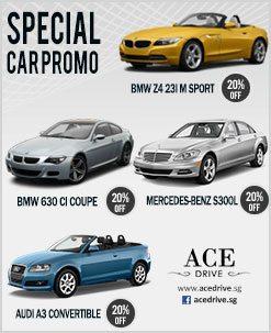 Special Car Rental Promo - November 2012 2nd Fortnight