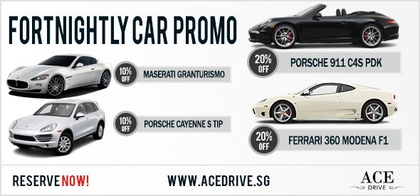 Fortnightly Car Rental Promo - November 2012 1st Fortnight