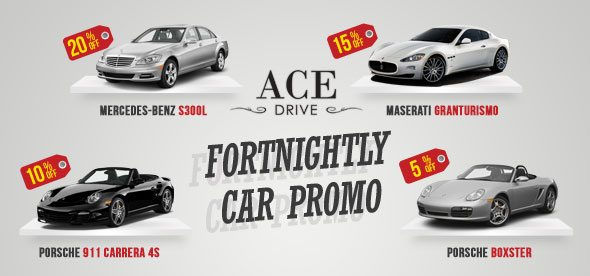 Fortnightly Car Rental Promo - October 2012