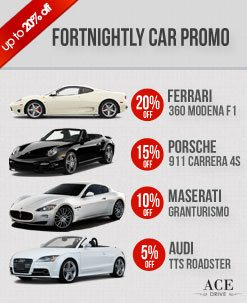 Fortnightly Car Rental Promo - October 2012 2nd Fortnight
