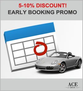Up to 55 Percent Discount - Early Booking Promo