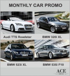 Up to 55 Percent Discount - Monthly Car Promo