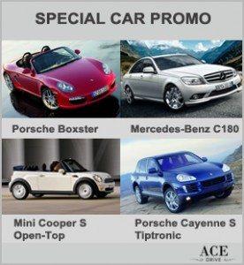 Up to 55 Percent Discount - Special Car Promo