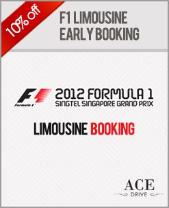 F1 Limousine Promo For September 1st Fortnight 2012