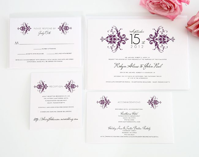 What Goes Into A Wedding Invitation: Do It Yourself Wedding Invitations Ideas
