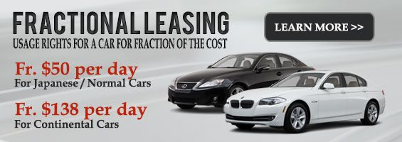 Alternative to Car Sharing - Fractional Leasing