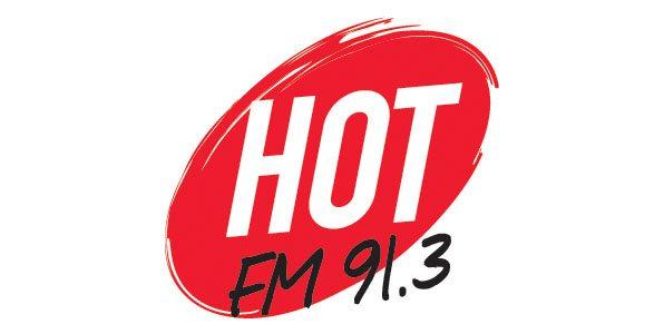 Hot FM91.3 Logo