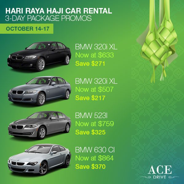 Category 3 3-Day Package - 2013 Hari Raya Haji Package