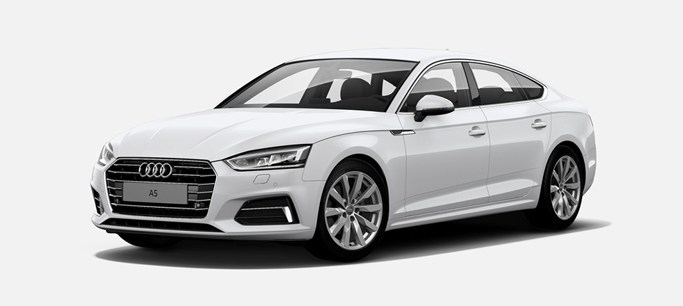 Audi A5 Sportback by Ace Drive Car Rental Singapore