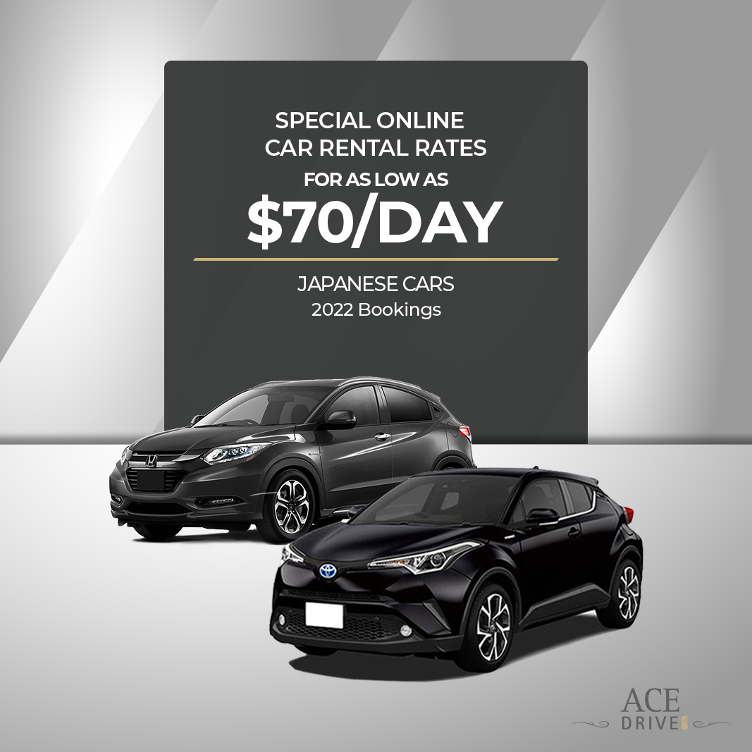 Online Car Rental Rates from as Low as $70/Day