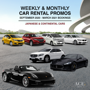 Weekly & Monthly Car Rental Promotions